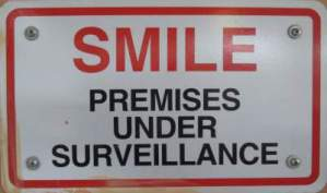 Smile-premises-under-surveillance-sign-Boise-River-Greenbelt-ID-5-7-2016