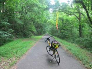 Jim-Schmid's-Bacchetta-Giro-recumbent-Bicentennial-Trail-Ashland-TN-5-20-17