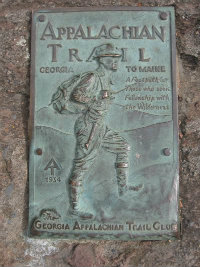 Appalachian-Trail-plaque-on-Springer-Mtn-GA-10-23-2008